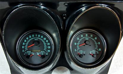 68 camaro aftermarket gauges