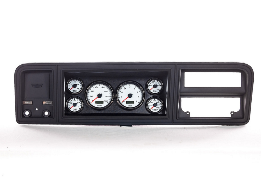 73 ford truck custom gauges