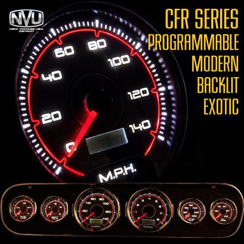 custom gauges led stepper motor backlit