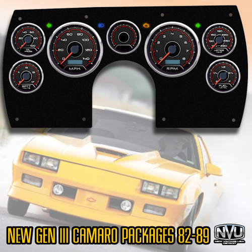 generation 3 camaro 89 camaro dash gauges instrumets