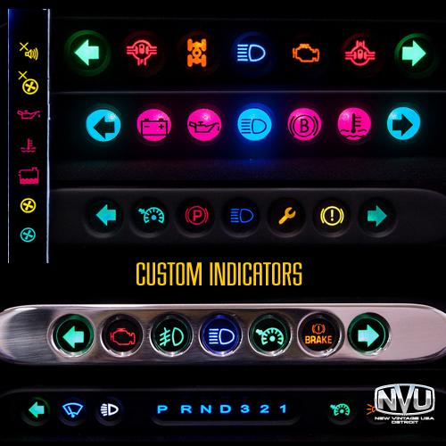 indicator warning lights auto