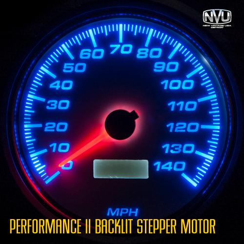 led stepper motor gauges performance racing gauges dash instruments