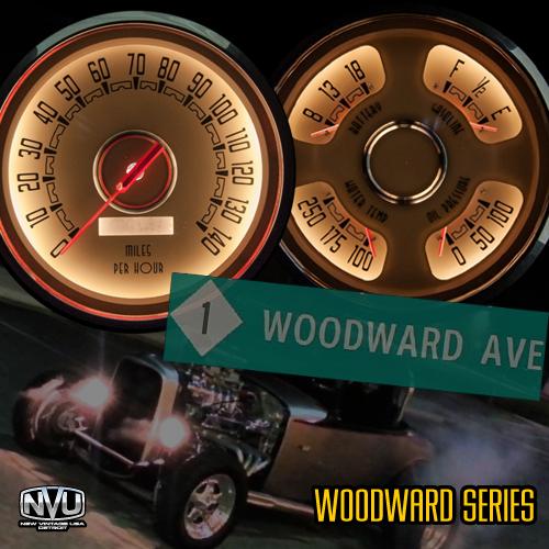 hot rod vintage gauges night light 4-3/8in